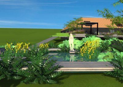 Barn Conversion Pond