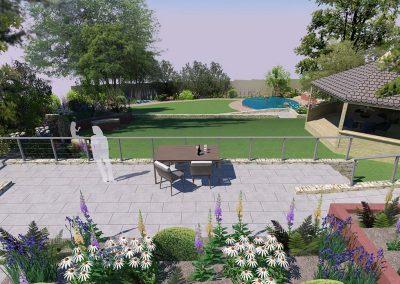 Large Sloped Garden 1