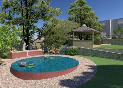 Large Sloped Garden 4