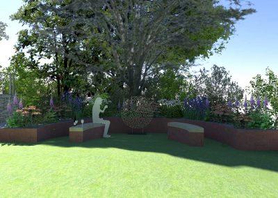 Large Sloped Garden 5