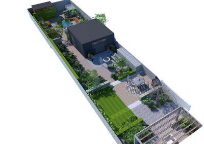 Long Narrow Garden 4