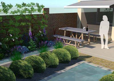 Urban Garden West Sussex 1