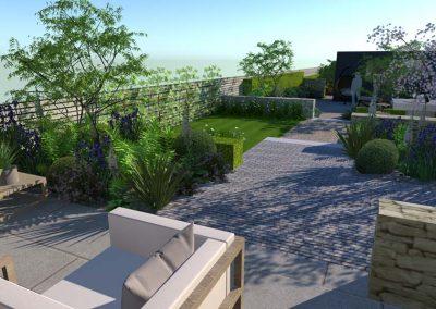 Long Narrow Garden 2