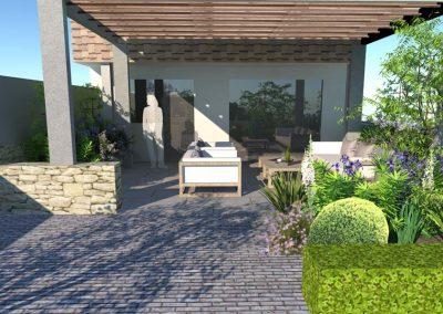 Long Narrow Garden 3