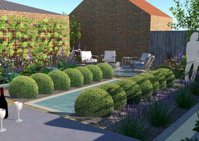 Urban Garden West Sussex 2