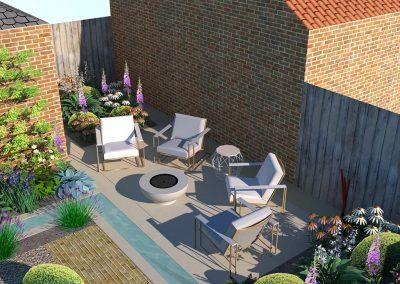 Urban Garden West Sussex 3